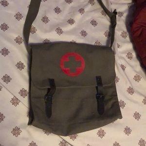 Handbags - Vintage medic cross body bag